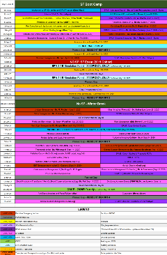 SF AHD Schedule 2020-2021