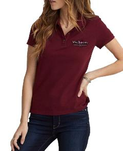Womens-Polo-Maroon